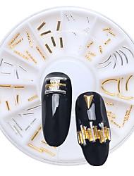 1 Negle smykker Andre dekorationer glitter Metallic Mode Høj kvalitet Daglig