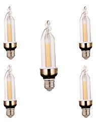E26/E27 Luz de Decoração 2 leds COB Decorativa Branco Quente Branco Frio 300-400lm 2800-3200/6000-6500
