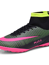 Men's Shoes PU Spring Fall Comfort Athletic Shoes Soccer Shoes Lace-up For Athletic Black Orange Green Blue