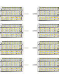 Недорогие -8шт 10 W 1000 lm R7S Люминесцентная лампа T 48 Светодиодные бусины SMD 5730 Dual-Head Тёплый белый / Холодный белый 85-265 V / RoHs