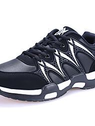 Недорогие -Универсальные Обувь Синтетика Зима Осень Удобная обувь Спортивная обувь Беговая обувь На плоской подошве Круглый носок для Атлетический
