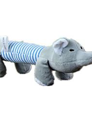 Недорогие -Плюшевые игрушки Мультипликация Скрип Поросенок Хлопок Назначение Собака Щенок