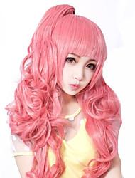 Lolita perika Sweet Lolita Lolita Lolita Perika 55 CM Cosplay Wigs Jednobojni Wig Za