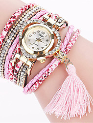 Xu™ Dámské Módní hodinky Náramkové hodinky Křemenný PU Kapela Retro Běžné nošení Černá Bílá Modrá Červená Hnědá Zelená Růžová Ivory