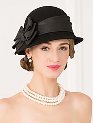 шерстяная ткань шляпы головной убор свадебная вечеринка элегантный женственный стиль