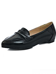 Women's Loafers & Slip-Ons Spring Summer Fall Winter Comfort Novelty Slingback Synthetic Patent Leather Leatherette PUWedding Office &