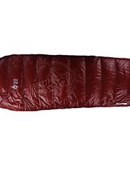 Sacco a pelo A mummia Singolo 10 Piume d'ocaX50 Campeggio Viaggi Al Coperto Ben ventilato Ompermeabile Portatile Antivento Anti-pioggia