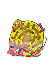 Недорогие -Muwanzi Обучающая игрушка Рыбки Оригинальные 1 pcs Мальчики / Девочки / Дерево