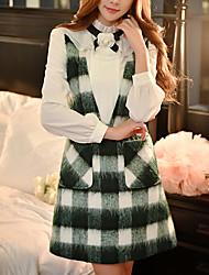 cheap -DABUWAWA Women's Vintage Cute Sophisticated A Line Sheath Dress - Patchwork, Backless Deep V
