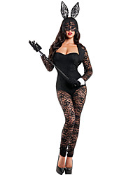 Bunny Girls Career Costumes Cosplay Costumes Party Costume Female Halloween Carnival Festival / Holiday Halloween Costumes Solid