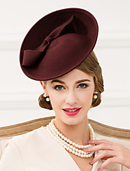 Women's Wool Headpiece-Wedding / Special Occasion / Casual Hats 1 Piece