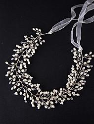 Imitation perle legering hovedbånd hovedstykke klassisk feminin stil