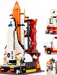 Недорогие -GUDI Экшен-фигурки Конструкторы Военные блоки Летательный аппарат Soldier совместимый Legoing Мальчики Девочки Игрушки Подарок / Обучающая игрушка