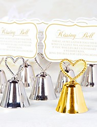 cheap -Kissing Bell Place Card / Photo Holder / Escort Card / Wedding Party Table Decoration without Blank Cards