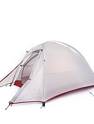 Naturehike 1 person Tent Double Camping Tent One Room Backpacking Tents Well-ventilated Portable Quick Dry Windproof Rain-Proof Foldable