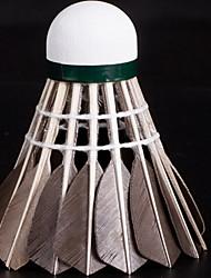 1 pezzo Badminton Volani di piume volani Basso spostamento d'aria Alta resistenza Elevata elasticità Duraturo per Piume d'oca