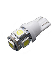 50 pezzi puro t10 bianco 5-SMD 5050 6000k targa led W5W luce 168 194 2825