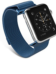 abordables -Bracelet de Montre  pour Apple Watch Series 3 / 2 / 1 Apple Sangle de Poignet Bracelet Milanais Acier Inoxydable