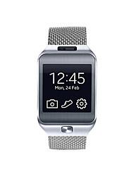 economico -Cinturino per orologio  per Gear 2 R380 Samsung Galaxy Cinturino a maglia milanese Acciaio inossidabile Custodia con cinturino a strappo