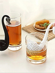 cheap -Novelty Swan Shape Tea Strainer Filter Herbal Spice  Filter Diffuser