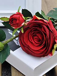 Недорогие -Полиэстер Розы Искусственные Цветы