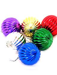 abordables -Décorations de Noël Articles pour Célébrer Noël Décorations d'arbre de noël Jouets Sphère Plastique 12 Pièces