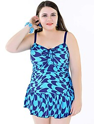 cheap -High Quality Plus Size Women One Pieces Swimwear Sling Free Wire 5 Colors Swimsuit 58-64