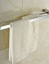 cheap -Towel Bar High Quality Contemporary Stainless Steel 1 pc - Hotel bath 2-tower bar