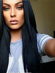 Lace Front Wig Brazilian Virgin Human Hair Light Yaki Wig For African American Women