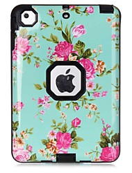 cheap -Case For Apple iPad Mini 3/2/1 Shockproof Pattern Full Body Cases Flower Hard TPU for iPad Mini 3/2/1 Apple