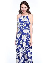 Damen Kleid - Bodycon Sexy Solide Mini Polyester / Elasthan Rundhalsausschnitt