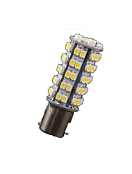 cheap -10X Warm White 1156 BA15S RV Trailer LED Lights Bulbs 68 SMD Reverse Turn Signal