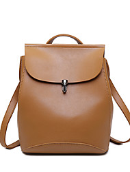Women Bags All Seasons PU Backpack for Shopping Casual Sports Formal Outdoor Office & Career Black Brown
