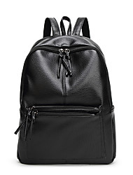 Women Bags All Seasons PU Backpack for Wedding Event/Party Shopping Casual Sports Formal Outdoor Office & Career Black