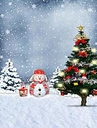 Christmas Background Photo Studio  Photography Backdrops 5x7FT