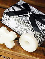 OX Scented White Soap Wedding Favor