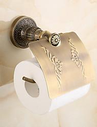 economico -Porta rotolo di carta igienica Antico Ottone 1 pezzo - Bagno dell'hotel