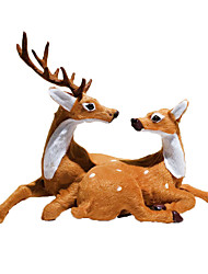 Недорогие -Рождественский декор Новогодние подарки Рождество Пластик