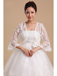 cheap -Lace Wedding Wedding  Wraps Coats/Jackets Classical Feminine Style