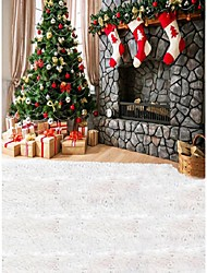 ChristmasTree Background Photo Studio  Photography Backdrops 5x7FT