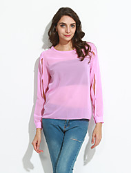 cheap -Women's Daily / Plus Size Sexy Spring / Summer / Fall Blouse