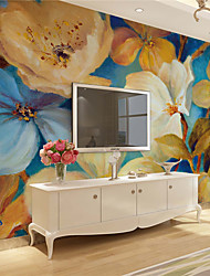 JAMMORY Floral Wallpaper Classical Wall CoveringCanvas Large Mural  Abstract Oil Painting FlowersXL XXL XXXL