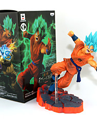 Dragon Ball Son Goku PVC 14CM Anime Action Figures Model Legetøj Doll Toy