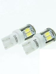 T10 149 W5W 11LED 5730SMD White 5W 240-280LM 6000-6500K DC12-16V Width Light