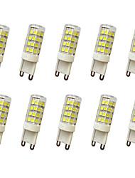 cheap -10pcs 300-360 lm E14 G9 G4 LED Bi-pin Lights T 51LED leds SMD 2835 Decorative Warm White Cold White AC110 AC220 AC 220-240V