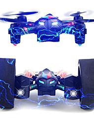 Drone RC 4 Canaux 6 Axes 2.4G Quadri rotor RC Eclairage LED Retour Automatique Auto-Décollage Vol Rotatif De 360 DegrésQuadri rotor RC