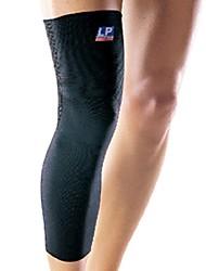 joelho estendido tricô respirável confortável alta do tipo retrátil respirável