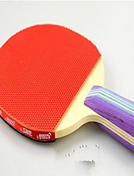 abordables -Ping Pang / Tennis de table Raquettes Bois Boutons / Long Manche Boutons / Long Manche Balles de Tennis de Table / 2 Raquette -