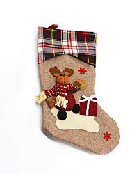 cheap -Christmas Toys Gift Bags 3 Christmas Textile