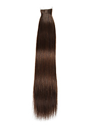 20Pcs/Lot 18Inch Tape In 100% Human Hair Extensions Skin PU Weft 40g Straight Hair